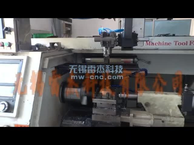 桁架机械手-轴类零件自动上下料,双顶尖-推料板储料箱湖州-倪(7-7)