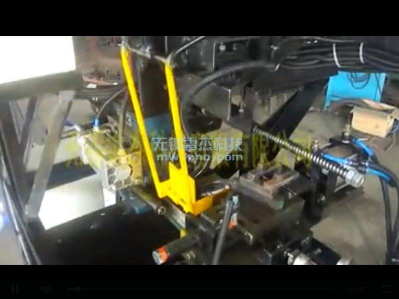 机械臂自动上下料阀门手轮加工,自动仪表车(3-3)